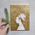 custom holiday paintings
