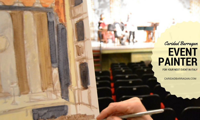 event painter in italy