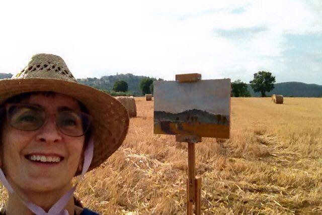 painting in umbria