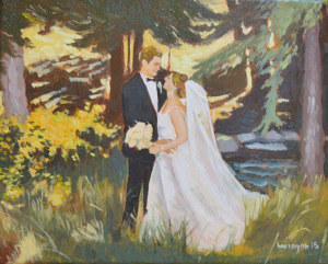 wedding anniversary paintings