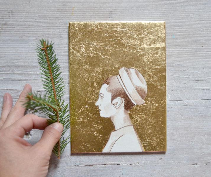 custom holiday paintings