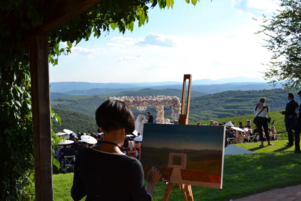 Wedding painter Italy