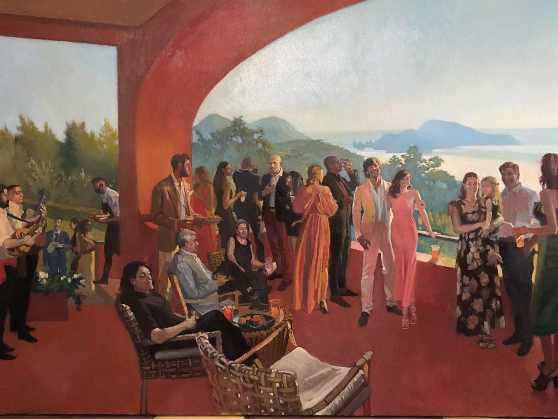 amalfi coast event painter